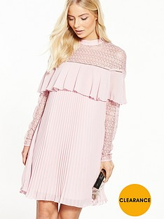 v-by-very-lace-frill-pleated-dress