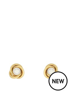 love-pearl-sterling-silver-gold-plated-freshwater-pearl-love-knot-earrings