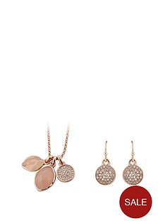 buckley-london-buckley-rose-gold-plate-rose-quartz-pendant-and-earring-set