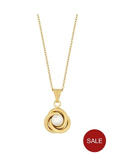 love-pearl-sterling-silver-gold-plated-freshwater-pearl-love-knot-pendant
