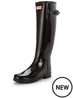 hunter-refined-tall-gloss-welly