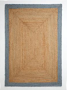ideal-home-jute-border-rug