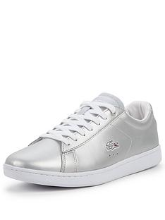 lacoste-lacoste-carnaby-evo-metallic-lace-up-plimsoll