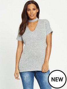 rochelle-humes-maternity-top-ndash-grey