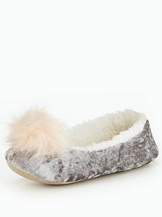 boux-avenue-pom-pom-ballerina-slipper