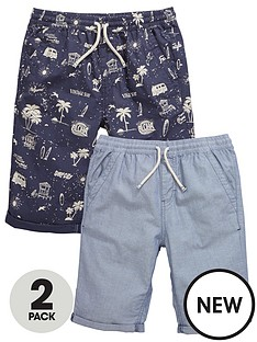 v-by-very-2-pk-pull-on-printed-oxford-shorts