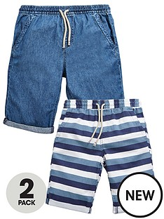 v-by-very-2-pk-pull-on-stripe-amp-chambray-shorts