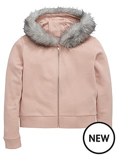 v-by-very-girls-faux-fur-trim-hoodie