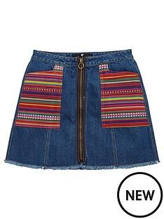 v-by-very-stripe-patch-pocket-denim-a-line-skirt