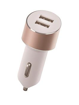 kit-platinumnbspdual-car-charger-34anbspwith-two-usbnbspcharging-ports