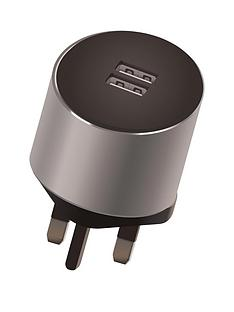 kit-platinumnbspdual-mains-charger-34a-with-2nbspusbnbspcharging-ports