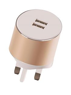 kit-platinumnbspdual-mains-charger-34anbspwith-two-usbnbspcharging-ports