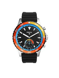 fossil-q-crewmaster-black-dial-silicone-strap-mens-hybrid-smart-watch