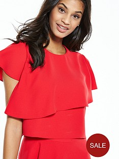 ted-baker-layered-frill-crop