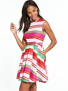 ted-baker-pier-stripe-skater-dress