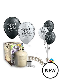 black-amp-silver-happy-birthday-helium-canister-amp-balloon-kit