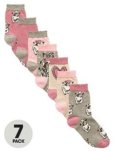 v-by-very-girls-pug-ankle-socks-7-pack