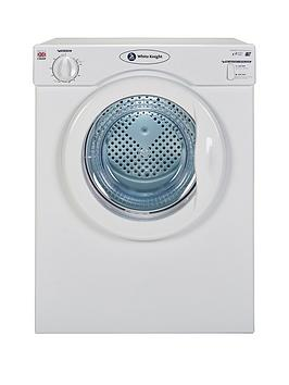 white-knight-c39awnbsp35kg-load-compact-vented-freestanding-tumble-dryer-whitenbsp