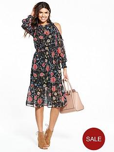 v-by-very-cold-shoulder-ruffle-midi-dress