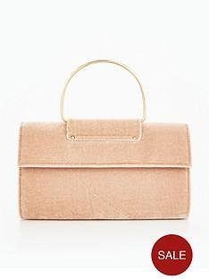 miss-selfridge-ring-foldover-clutch-bag