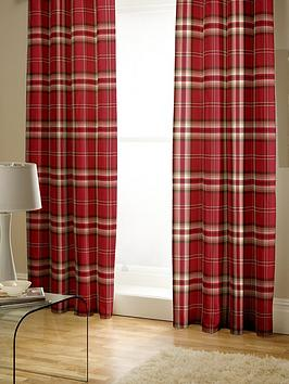 catherine-lansfield-kelso-check-lined-pencil-pleat-curtainsnbsp
