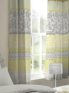catherine-lansfield-oriental-birds-eyelet-curtains