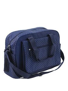 summer-infant-changing-bag--navy-polka-dot