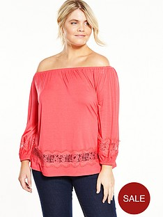 v-by-very-curve-lace-trim-bardot-jersey-top