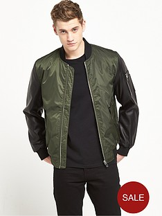 river-island-contrast-sleeve-ma1-bomber-jacket