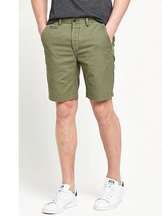 river-island-slim-distressed-chino-shorts