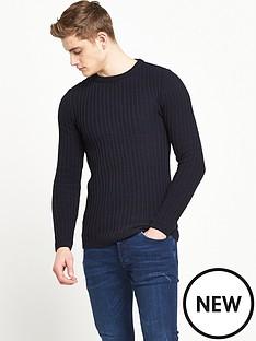 river-island-rib-knitted-jumper