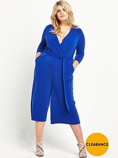 v-by-very-curve-wrap-culotte-jumpsuit-cobalt-blue
