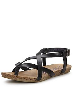blowfish-granola-gladiator-flat-sandal