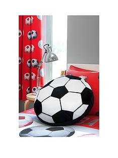 catherine-lansfield-football-pleated-curtains-in-red