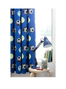 catherine-lansfield-football-pleated-curtains-in-blue