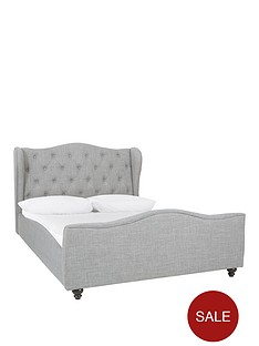 chelmsford-fabric-double-bed-frame-with-mattress-options-buy-and-save
