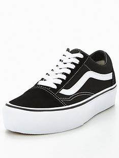 13ec6d9e95 Vans Old Skool Platform - Black White