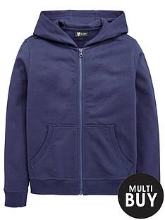 v-by-very-schoolwear-unisex-pe-school-basic-hoodienbsp--navy