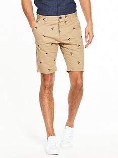 v-by-very-mens-embroidered-chino-shorts