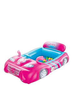 bestway-barbie-sports-car-ball-pit