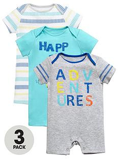 ladybird-baby-boys-3pk-bug-and-stripe-rompers