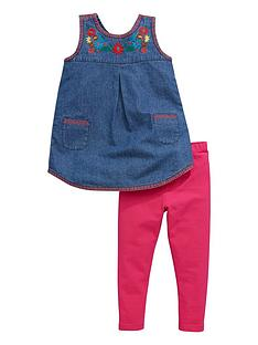 mini-v-by-very-mini-v-by-verynbspgirls-denim-wrap-emb-top-amp-legging-set