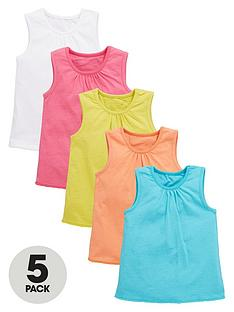 mini-v-by-very-toddler-girls-pom-pom-hem-vest-tops-5-pack