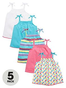 mini-v-by-very-toddler-girls-strappy-tex-mex-vest-tops-5-pack