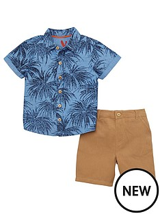 mini-v-by-very-toddler-boys-palm-print-shirt-amp-chino-set