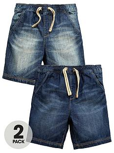 mini-v-by-very-toddler-boys-pull-on-denim-shorts-2-pack