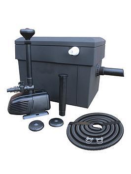 lotus-all-in-one-filter-kit-8000-18-watt-uv-amp-2500ltr-pump