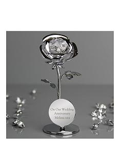 personalised-swarovski-rose