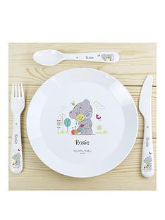 tiny-tatty-teddy-personalised-plate-cutlery-set