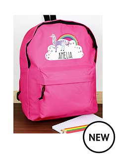 personalised-unicorn-backpack